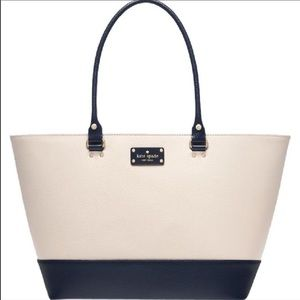 Kate Spade large leather tote nwt